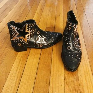 Ivy Kirzhner Studded Ankle Boots